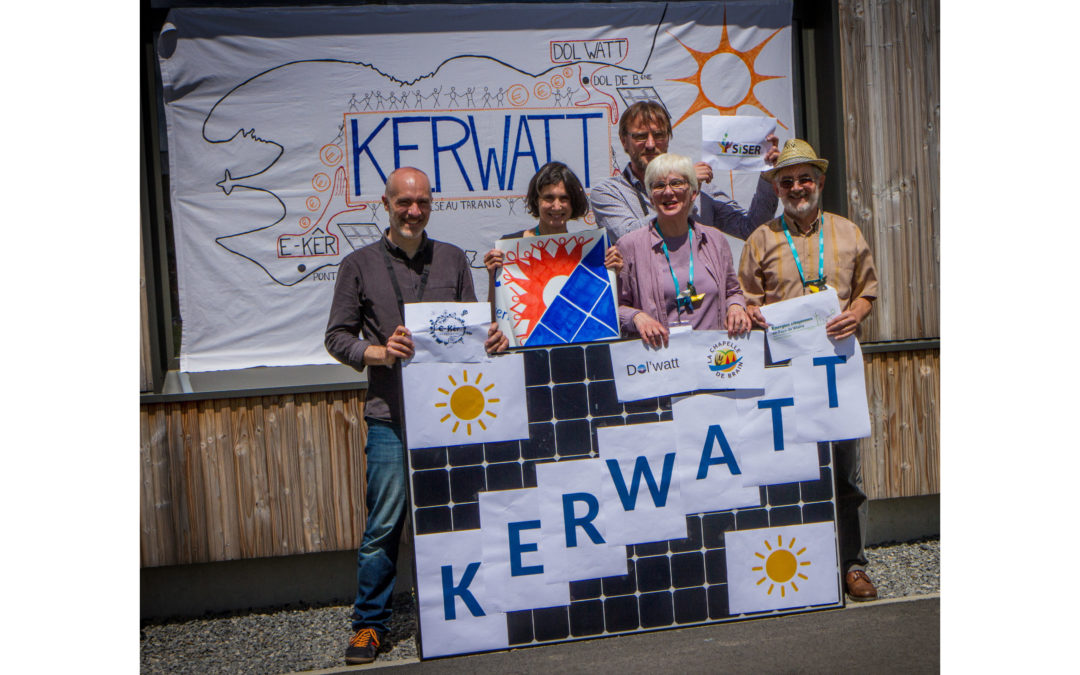 L'outil régional : Kerwatt, une société citoyenne au service de la transition énergétique de la Bretagne